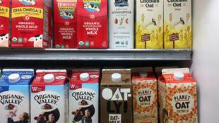 """La compañía sueca Oatly ha tenido éxito con su oferta de alimentos """"alternativos"""" durante la pandemia de covid-19"""