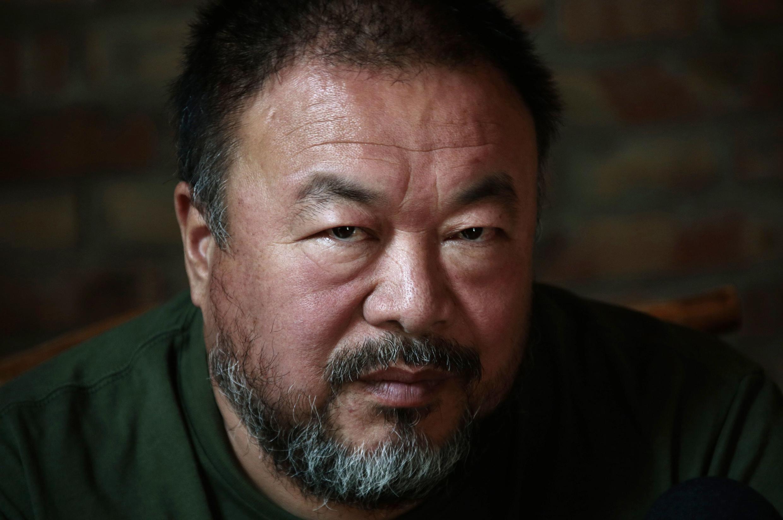 北京艺术家艾未未。图片摄于2013年5月