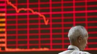 中國股市連續劇烈動蕩