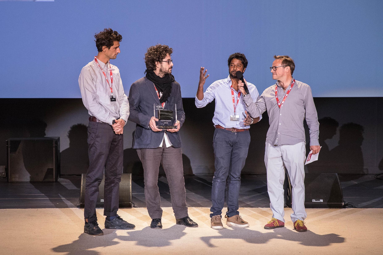 Samuel Bollendorf (à droite), président du jury, a salué une «enquête remarquable».