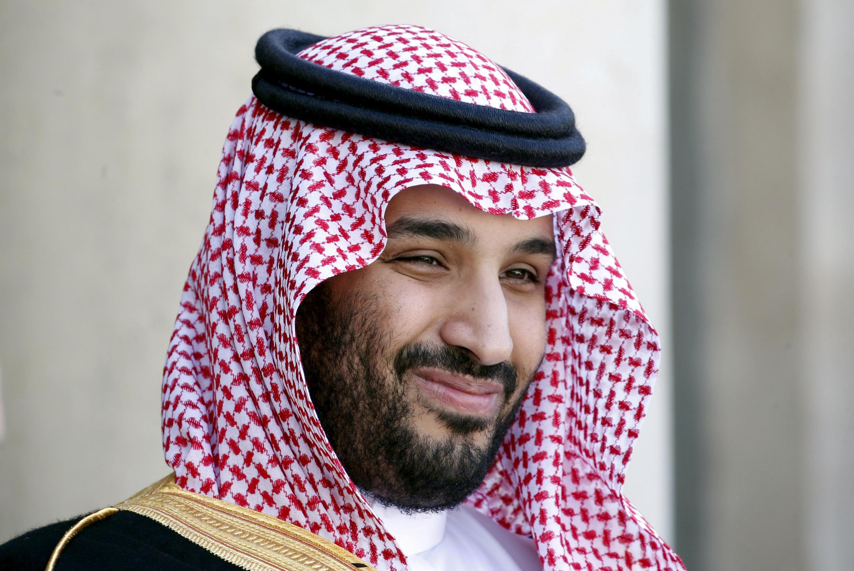 Саудовский принц Мухаммед бен Салман в Париже, 24 июня 2015.