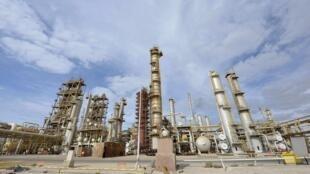 La raffinerie de pétrole de Brega, le 20 octobre 2013.