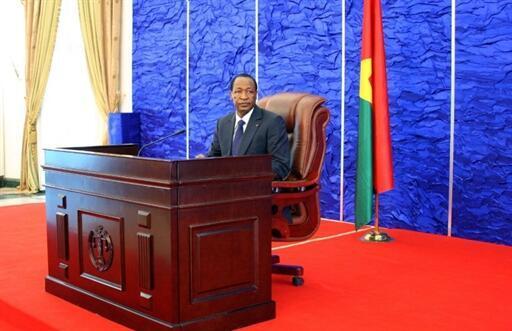 Le président du Burkina Faso, Blaise Compaoré.