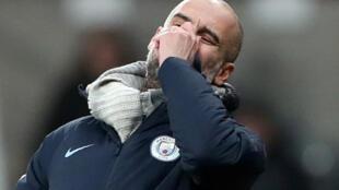 Pep Guardiola,  kocin City.