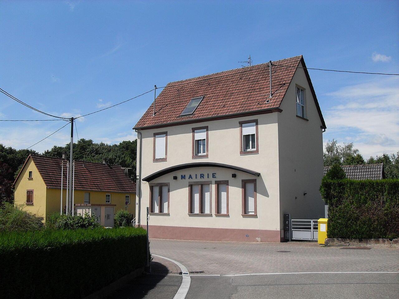 Мэрия города Ширроффен (департамент Нижний Рейн, Эльзас)