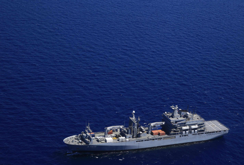 Allemagne - Navire militaire - Mer Egée AP784534879811