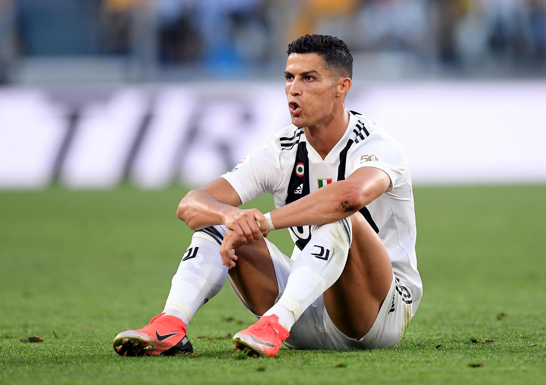 Cristiano Ronaldo trong màu áo của câu lạc bộ Juventus Turino sau trận gặp Napoli trong khuôn khổ giải vô địch bóng đá Ý Seri A ngày 29/09/2018.