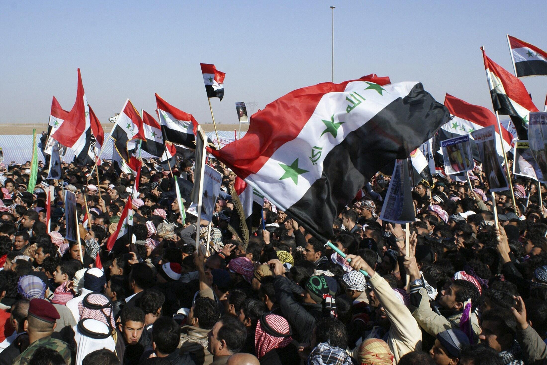 Dubban masu Zanga-zanga a kasar Iraqi