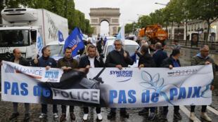 2020-06-12 france police protest violence racism chokeholds