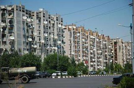 Le Turkménistan est l'un des plus fermés et autoritaires au monde (image d'illustration, Achgabat).