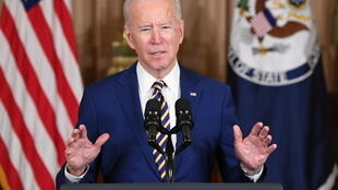 US President Joe Biden announced he is raising the cap on refugee admissions to the United States to 125,000 per year, far higher than the cap imposed by his predecessor Donald Trump