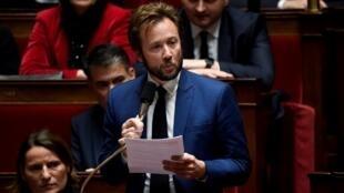 «Nous avons cherché les moyens (...) d'éviter l'irrémédiable», a déclaré le porte-parole des députés PS Boris Vallaud (ici le 12 décembre 2018).