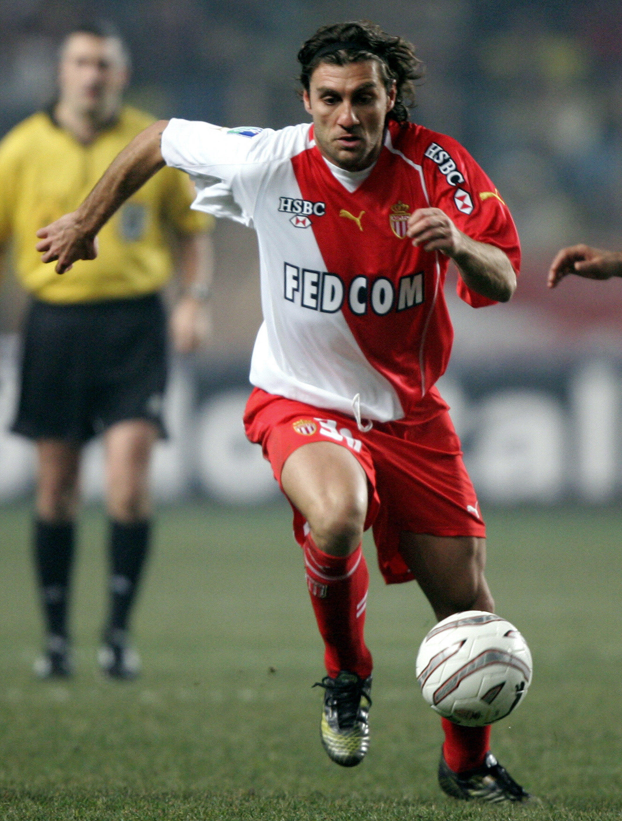 Avec l'AS Monaco, Christian Vieri n'a pas eu le temps de flamber.