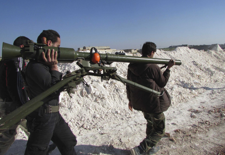 Сирия, март 2014