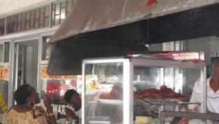 Moja ya mita ya Dar es Salaam, mji mkuu wa Tanzania ambako kunasubiriwa uamzi wa Mahakama kuu kuhusu kifungo tata.