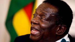 Emmerson Mnangagwa, shugaban Zimbabwe.