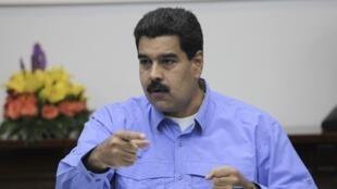 El presidente de Venezuela, Nicolás Maduro. ARCHIVO.