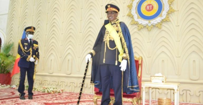 Award: President Idriss Deby Itno was named Marshal of Chad during a ceremony at the National Assembly on Tuesday. By Renaud MAS