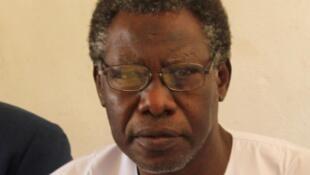 Mahamat Nour Ibedou, le secrétaire général de la Convention tchadienne pour la défense des droits de l'homme.