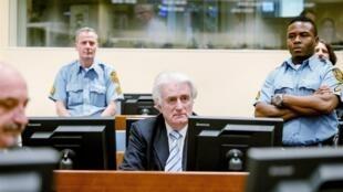 Tsohon shugaban Serbia Radovan Karadzic