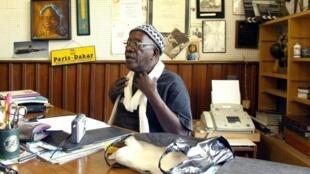 Ecrivain-cineaste senegalais Sembene Ousmane