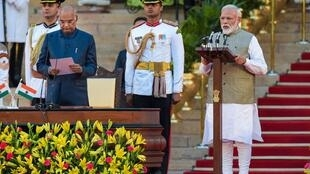 Narendra Modi's  swearing-in ceremony