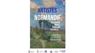 L'exposition «Artistes en Normandie» se tient jusqu'au 16 septembre 2018.