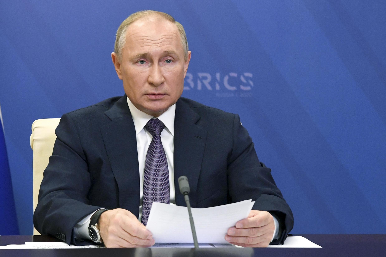 俄罗斯总统普京2020年11月1日会议照