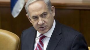 Le Premier ministre Benyamin Netanyahu proclame que la relance du processus de paix est un intérêt stratégique indispensable pour Israël.