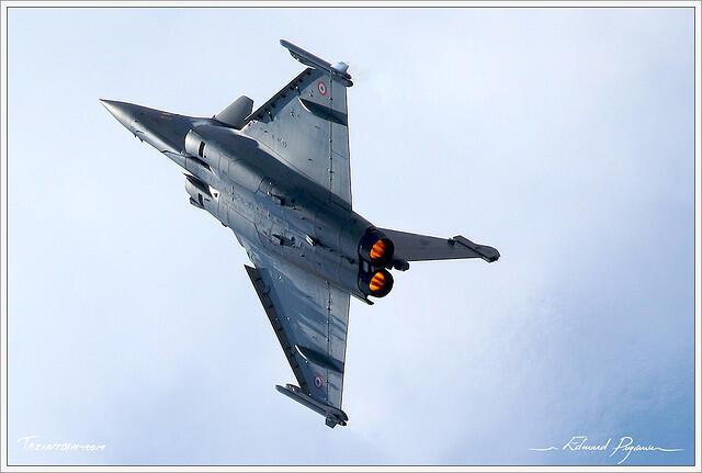 O caça Rafale, fabricado pela francesa Dassault.