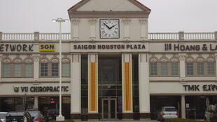 La place Saigon, à Litlle Saigon, à Houston aux États-Unis.