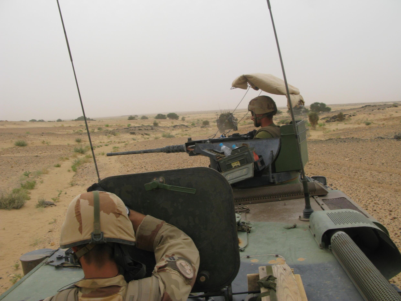 Французские солдаты в Сахеле в рамках операции «Бархан»
