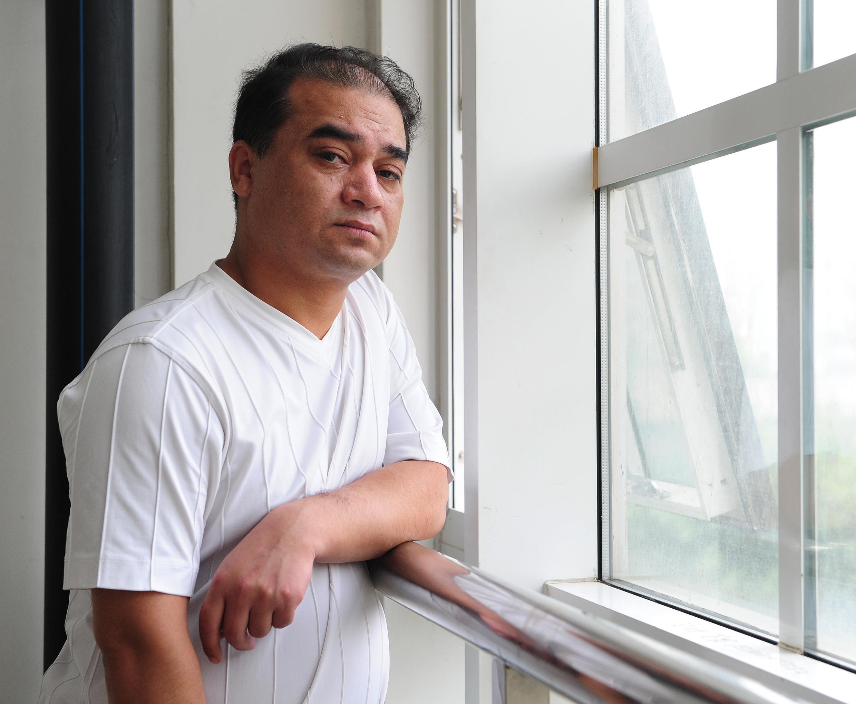 សាស្ត្រាចារ្យ Ilham Tohti ត្រូវរដ្ឋចិនចាប់ឃុំ តាំងពីឆ្នាំ២០១៤រហូតមក។