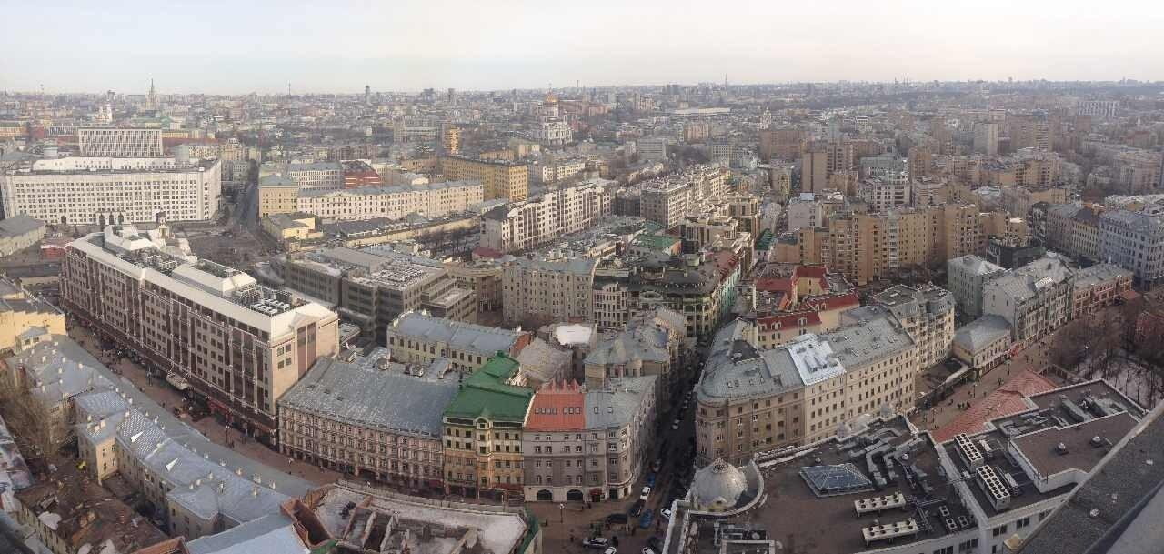 Moscou, la capitale de la Russie.