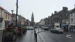 La grande rue de Berwick-upon-Tweed.