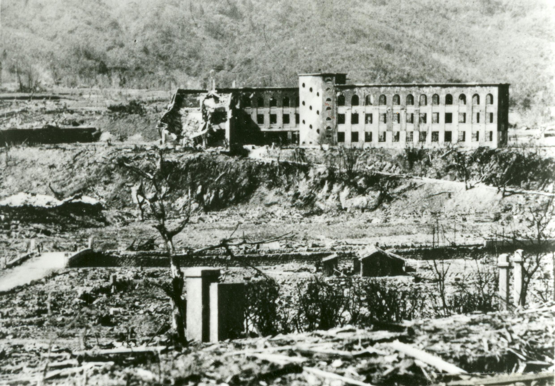日本廣島1945年8月6號原子彈爆炸後 猶如世界末日