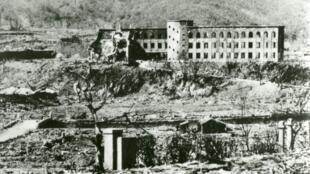 日本广岛1945年8月6号原子弹爆炸后 犹如世界末日