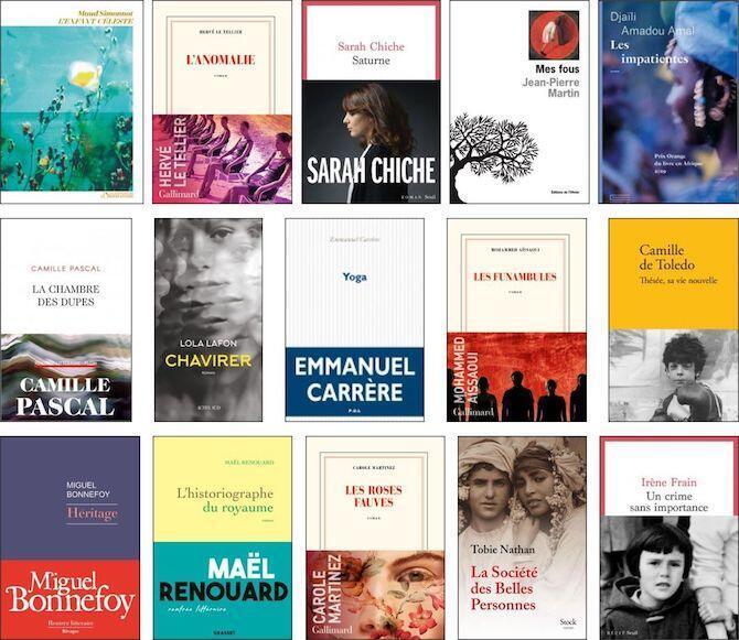 Prix Goncourt Selection 2020