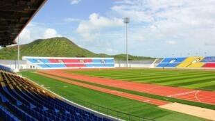 Estádio Nacional de Cabo Verde inaugurado a 23/08/14
