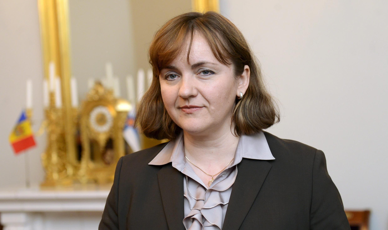 Natalia Gherman, ministre des Affaires étrangères et de l'intégration européenne de Moldavie de 2013 à 2016.
