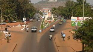 Vue de la ville de Bamako.