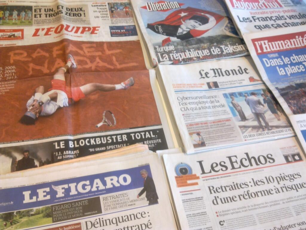 Diários franceses  10/06/2013