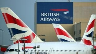 British Airways aircraft are seen at Heathrow Airport in west London, Britain, February 23, 2018.