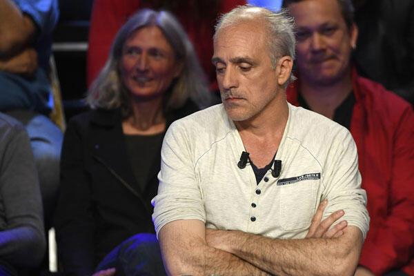 Ứng cử viên tranh cử tổng thống Pháp Philippe Poutou, người đặc biệt được công chúng chú ý sau cuộc tranh luận trên truyền hình, ngày 04/04/2017, trên hai kênh BFMTV và CNEWS.