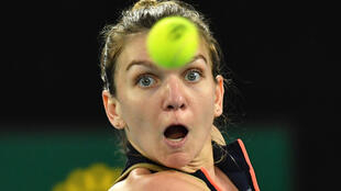 Simona Halep losing to Serena Williams at the Australian Open