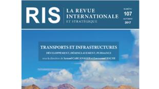 Couverture du numéro 107 de la Revue internationale et stratégique, 2017.