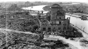 Hiroshima Dozens of buildings survived the bombing intact within a five-kilometre radius of ground zero