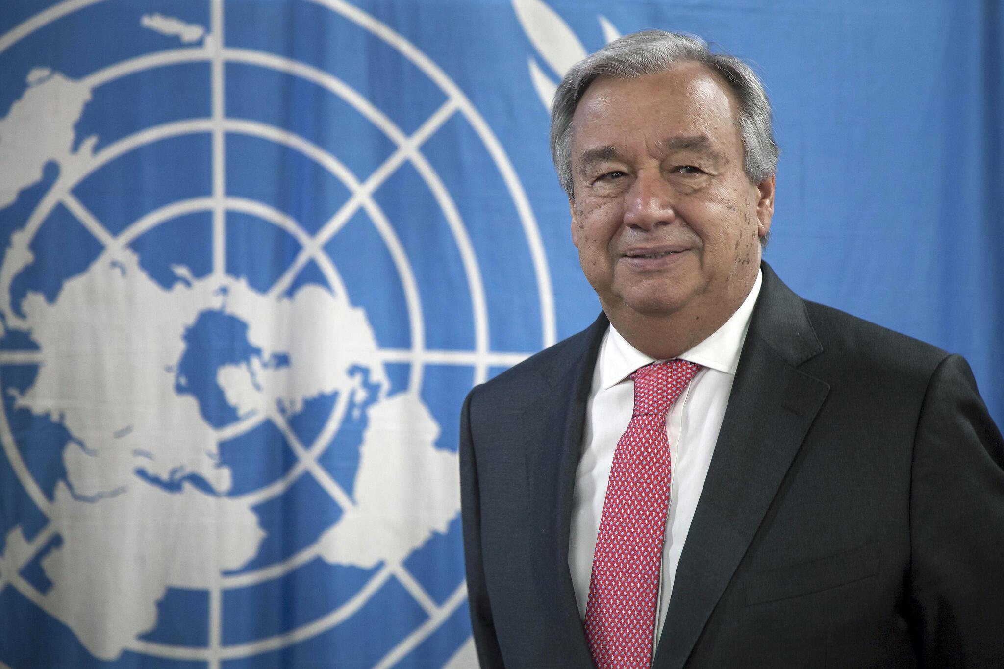 António Guterres, secretário-geral das Nações Unidas