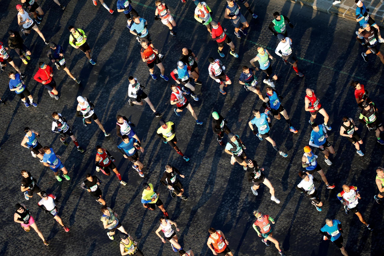 С каждым годом число участников марафонов и полумарафонов растет.