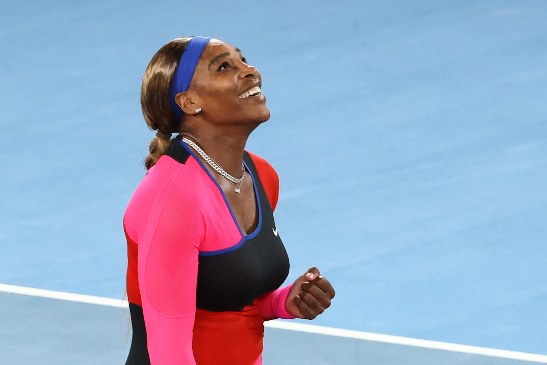 Serena Williams is into a 40th Grand Slam semi-final